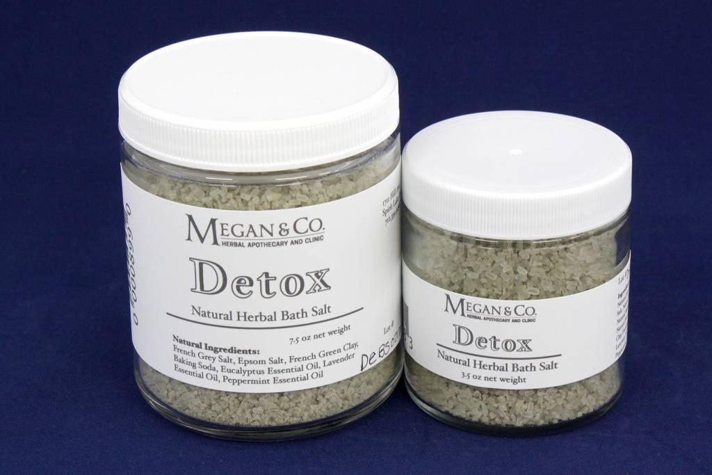 Detox Bath Salt, 4oz