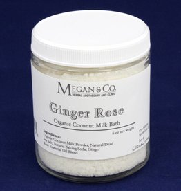 Ginger Rose Milk Bath, 9oz