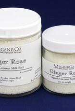 Ginger Rose Milk Bath, 9oz