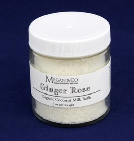 Ginger Rose Milk Bath, 4oz