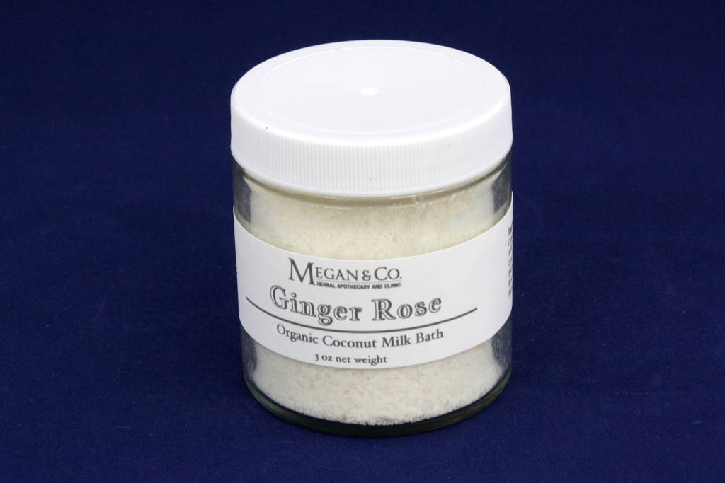 Ginger Rose Milk Bath, 4oz