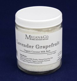 Lavender Grapefruit Milk Bath, 9oz