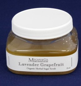 Lavender Grapefruit Sugar Scrub, 8 oz