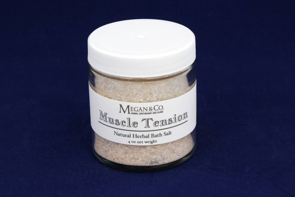 Muscle Tension Bath Salt, 4 oz