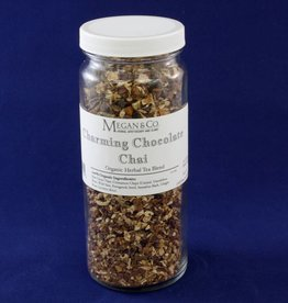 Charming Chocolate Chai Herbal Tea, 16oz Jar
