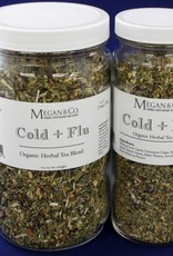 Cold + Flu Rescue Herbal Tea, 16oz Jar