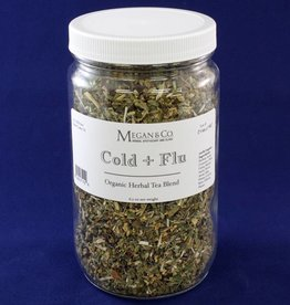 Cold + Flu Rescue Herbal Tea, 32 oz Jar