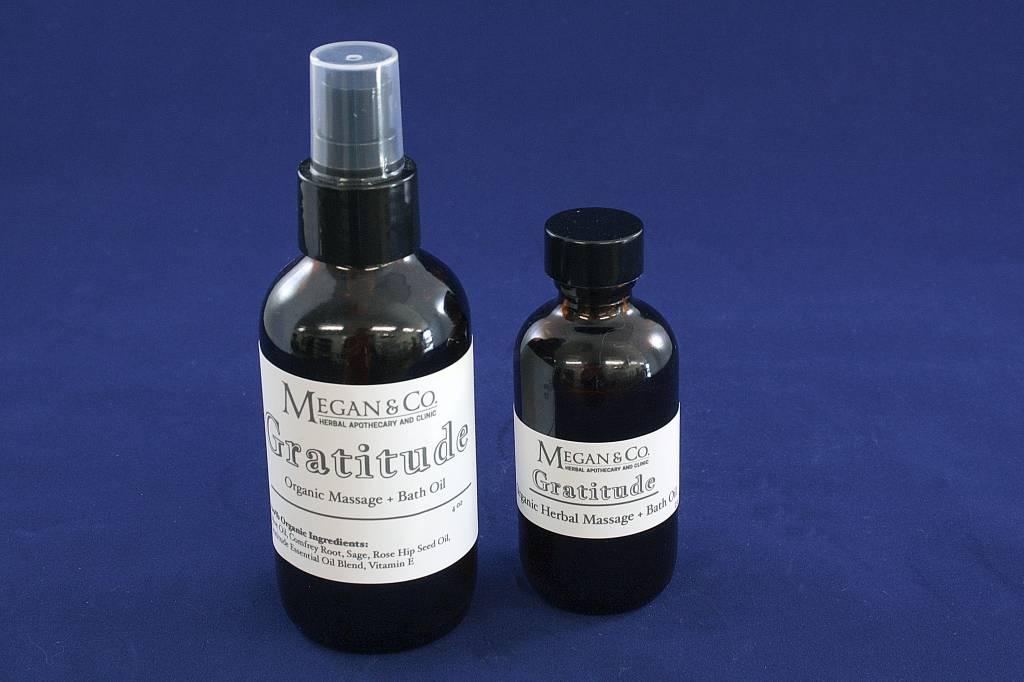 Gratitude Massage + Bath Oil, 2 oz