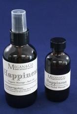 Happiness Massage + Bath Oil, 2 oz