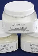 Citrus Mint Shaving Cream, 8 oz