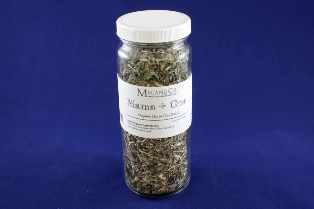 Mama + One Herbal Tea, 16oz Jar