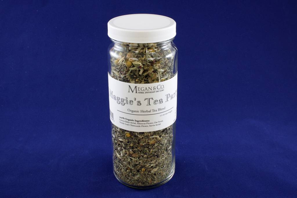 Maggie's Tea Party Herbal Tea, 16 oz Jar