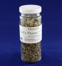 Kid's Throat + Lung Herbal Tea, 16 oz Jar
