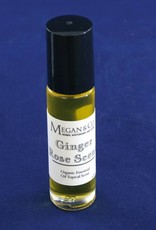 Ginger Rose Scent, Topical Essential Oil Roller