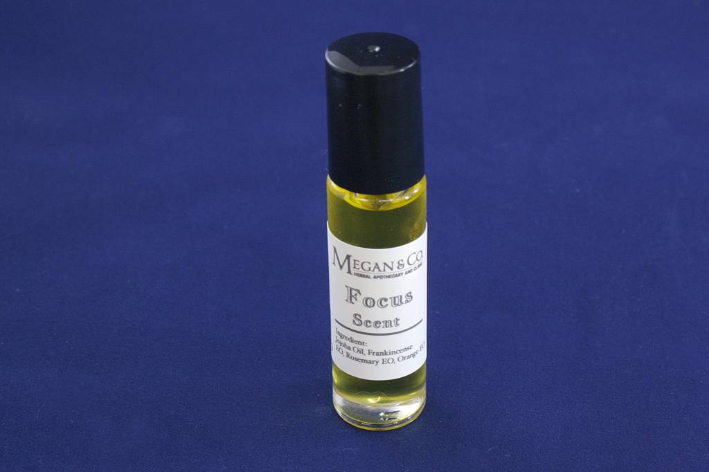 Focus Scent, Topical Roller Bottle