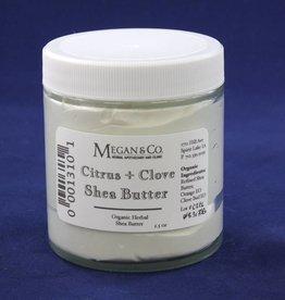 Citrus Clove Shea Butter, 4 oz