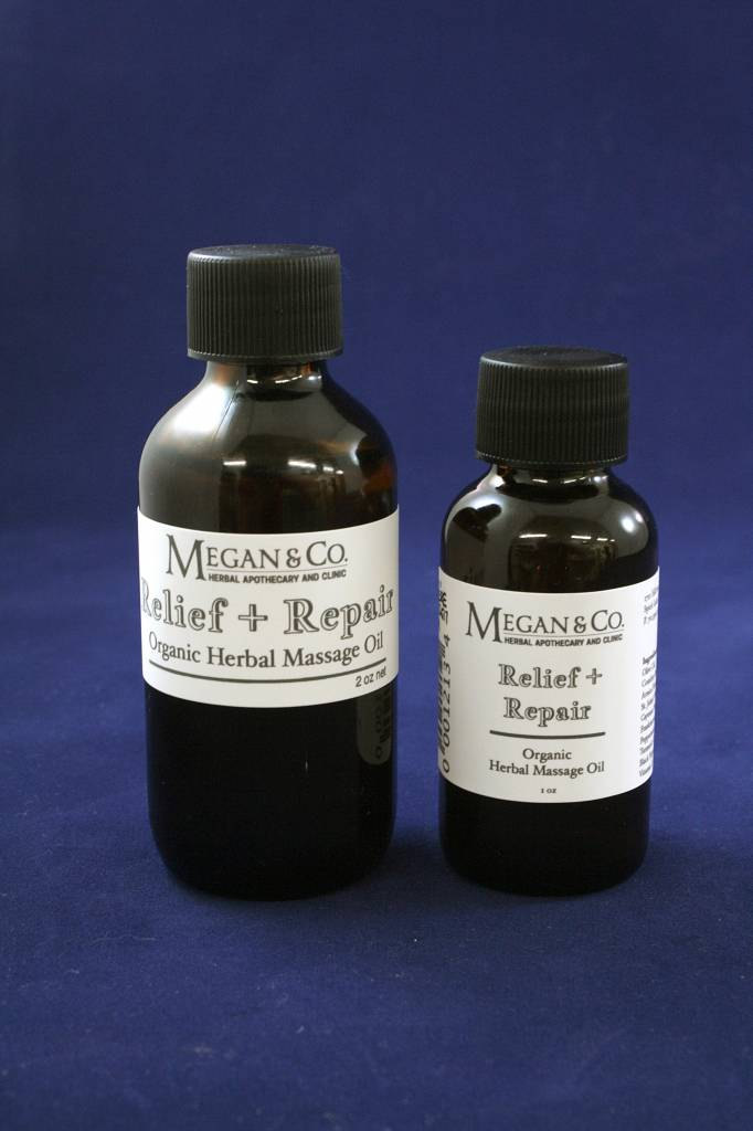 Repair + Relief Massage Oil, 2 oz