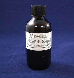 Repair + Relief Massage Oil, 2 oz