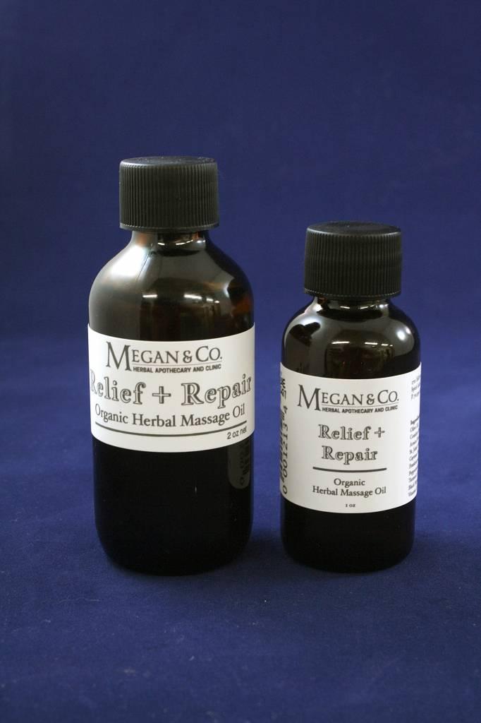 Relief + Repair Massage Oil, 1oz