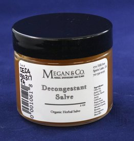 Decongestant Salve, 2 oz
