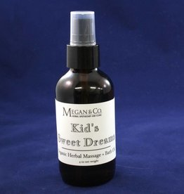 Kid's Sweet Dreams Massage Oil, 4 oz