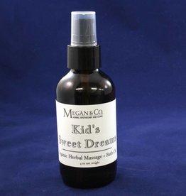 Kid's Sweet Dreams Massage Oil, 4 oz