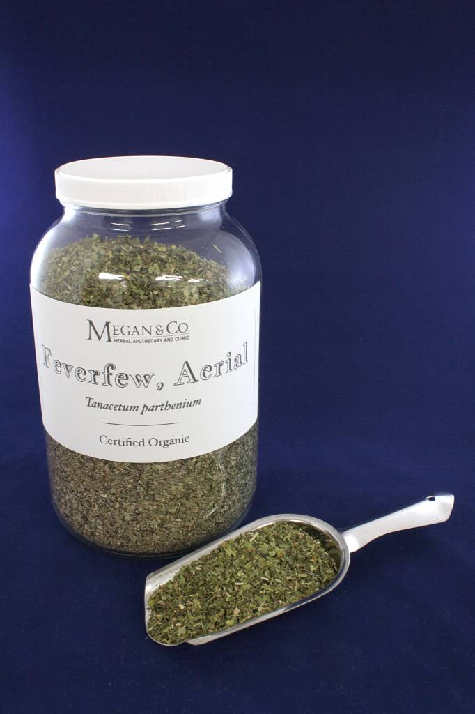 Feverfew, Leaf, 1 oz Bagged