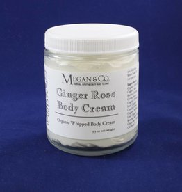Ginger Rose Whipped Body Cream, 8 oz