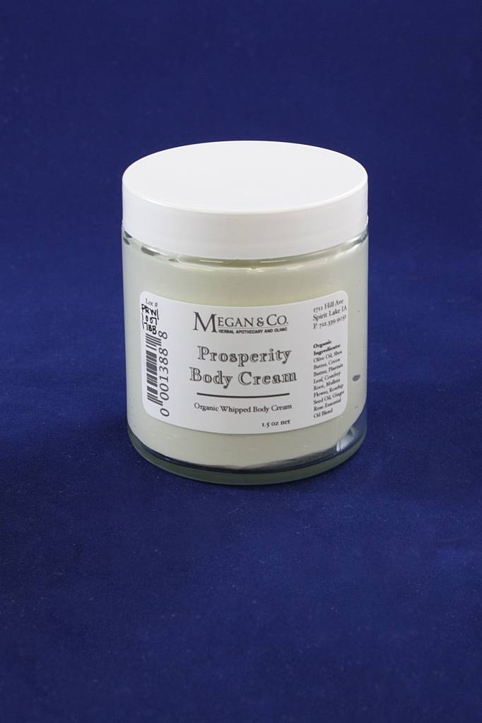 Prosperity Whipped Body Cream, 4 oz