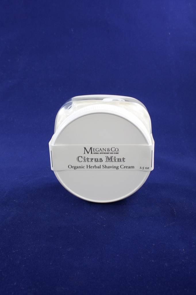 Citrus Mint Shaving Cream, 4 oz