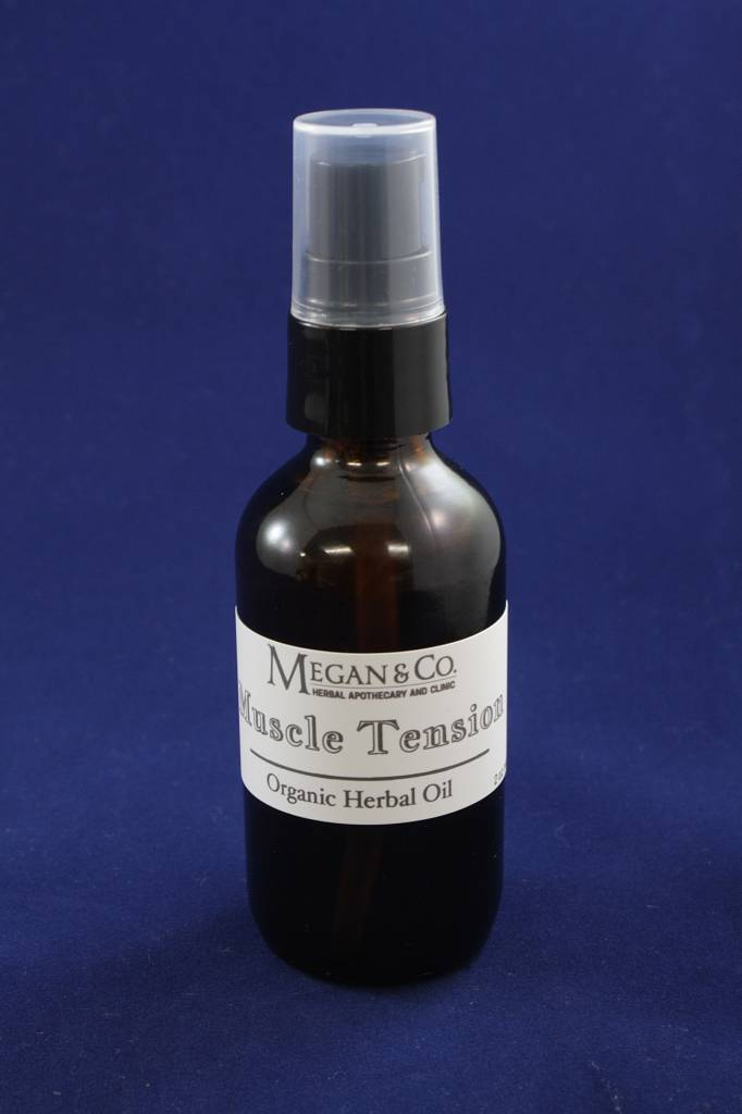 Muscle Tension Massage Oil, 2 oz