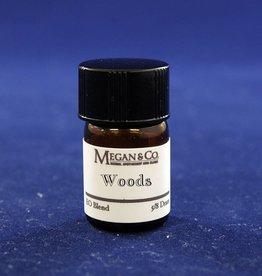 Woods Essential Oil Blend, 5/8th Dram