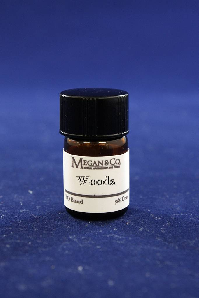 Woods Essential Oil Blend, 5/8th Dram
