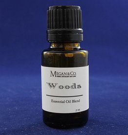 Woods Essential Oil Blend, .5 oz