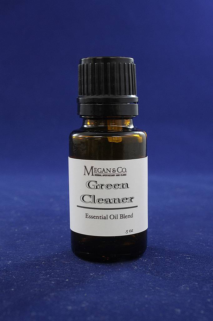 Green Clean Essential Oil Blend, .5 oz