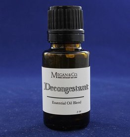 Decongestant Essential Oil Blend, .5oz