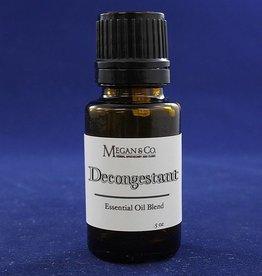Decongestant Essential Oil Blend, .5oz