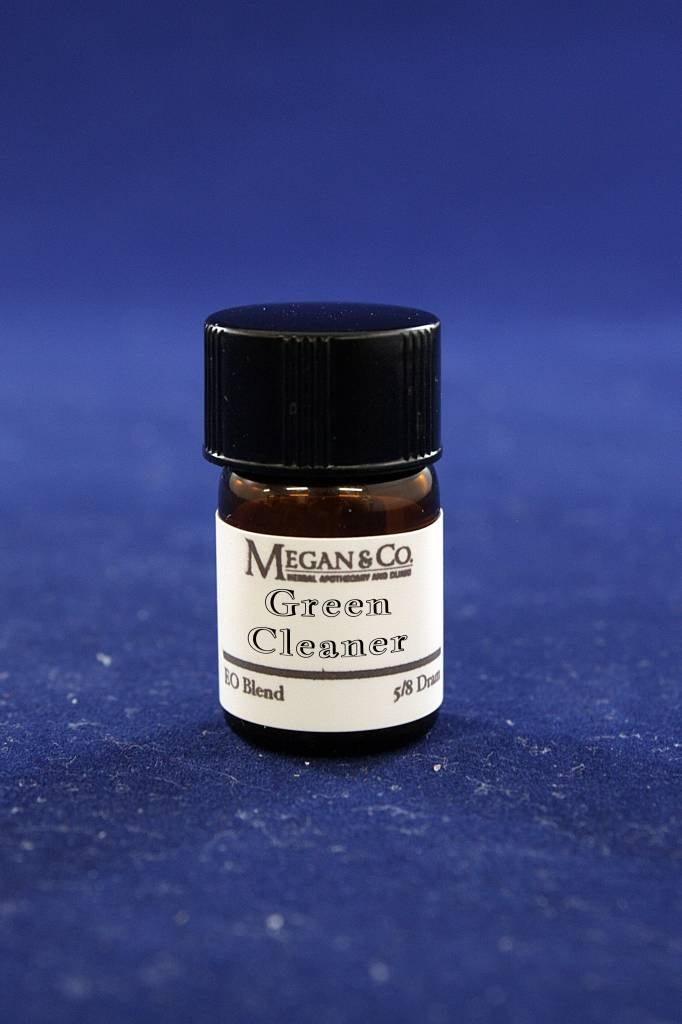 Green Cleaner Essential Oil Blend, 5/8th Dram