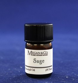 Sage Essential Oil, 5/8th Dram