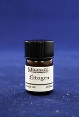 Ginger CO2 Essential Oil, 5/8th Dram