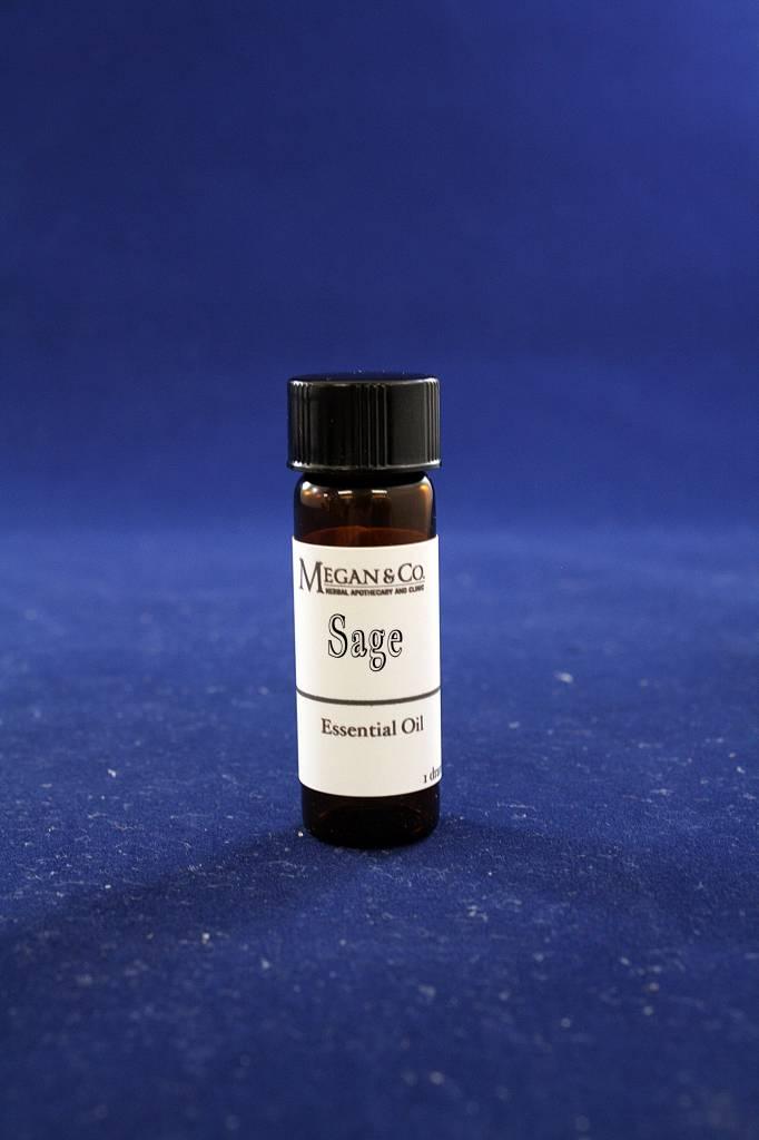 Sage Essential Oil, Dram