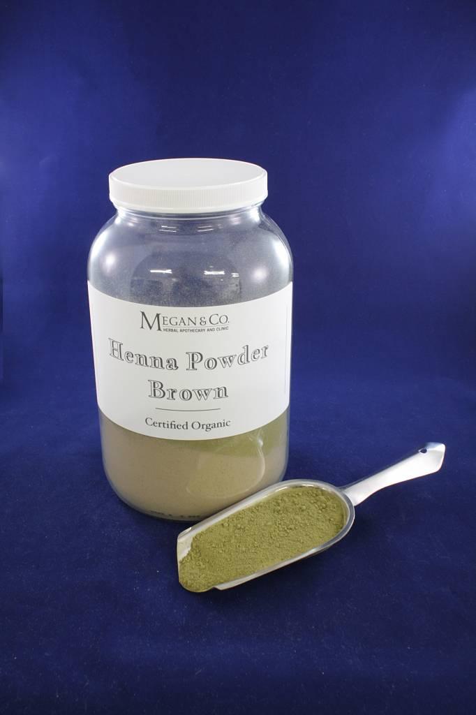 Brown Henna Powder, 1 oz Bagged