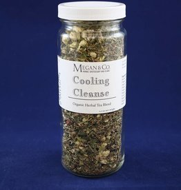 Cooling Cleanse Herbal Tea, 16oz Jar