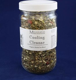 Cooling Cleanse Herbal Tea, 32 oz Jar