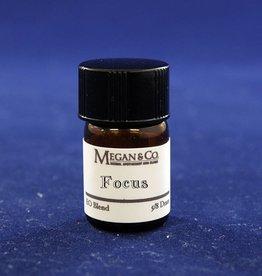 Focus Essential Oil Blend, 5/8th Dram