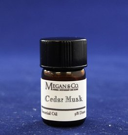 Cedar Musk Essential Oil Blend, 5/8th Dram