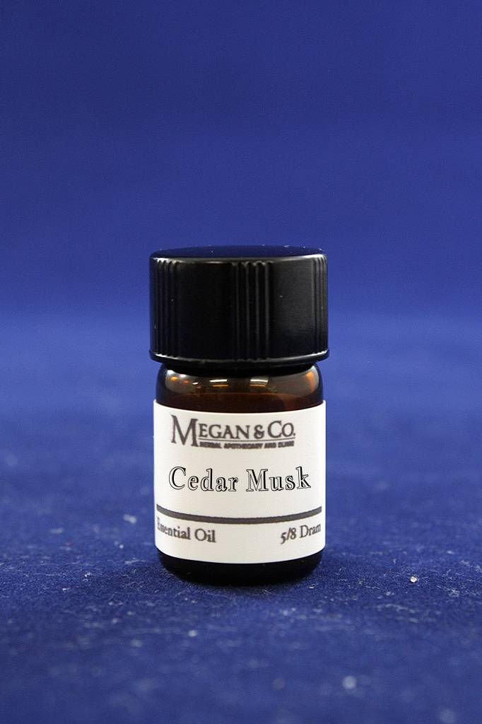 Cedar Musk Essential Oil Blend, 5/8th Dram