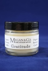 Gratitude Beeswax Candle, 2 oz