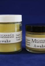 Awake, 2 oz Beeswax Candle