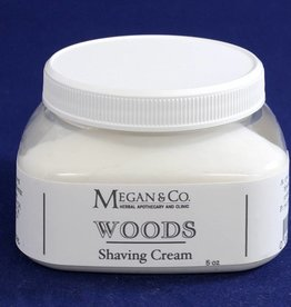 Woods Shaving Cream  8 oz